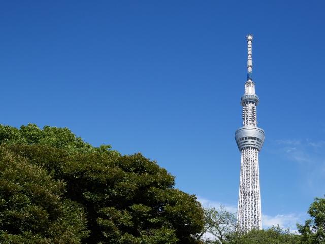 東京スカイツリーの見える風景