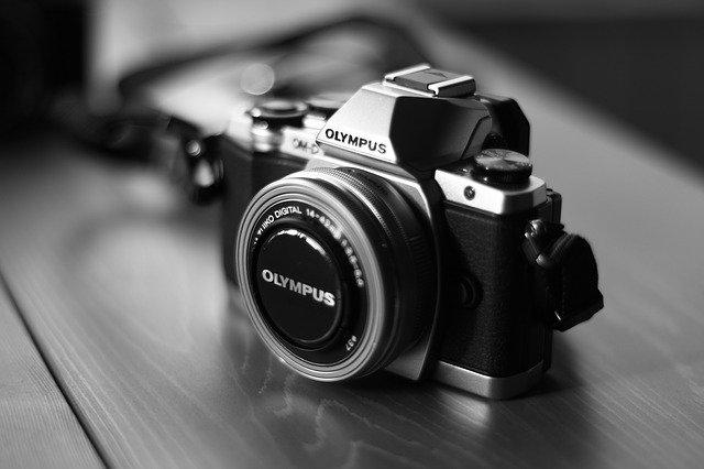 OLYMPUSの一眼レフカメラ