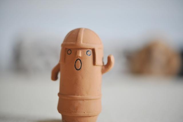 かわいいはにわ人形