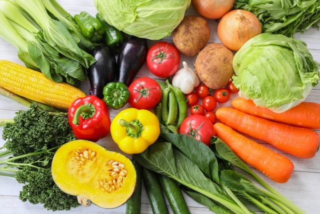 たくさんの野菜たち
