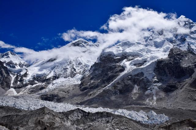 エベレストが見える絶景