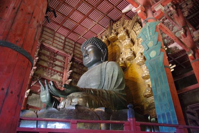 日本の世界遺産・奈良の東大寺大仏