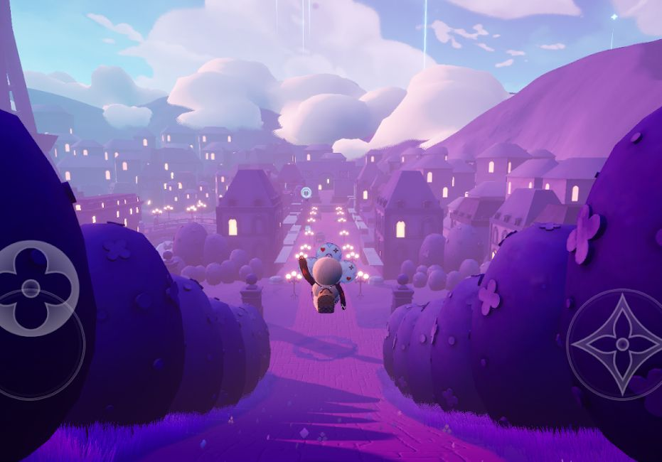 LOIUS THE GAMEゲーム画面